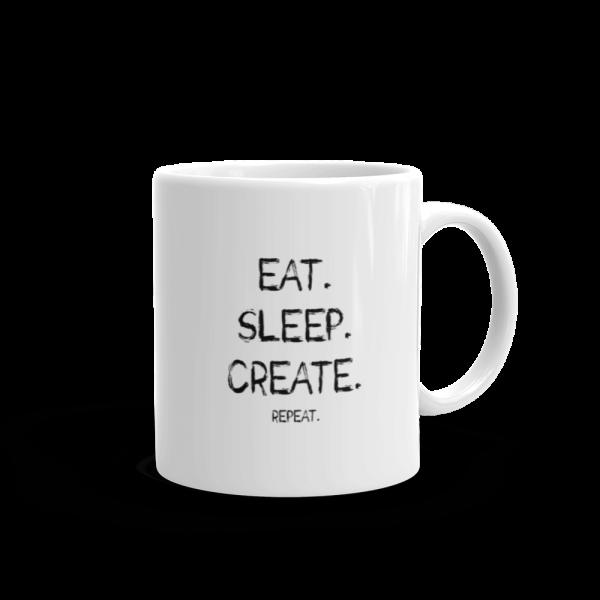 Eat Sleep Create Mug 11oz