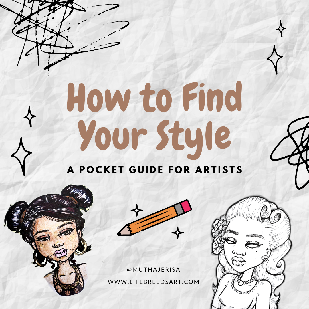 How to Find Your Style - Guide for Artists
